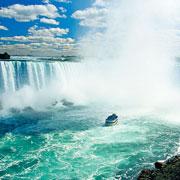Voilà les chutes du Niagara